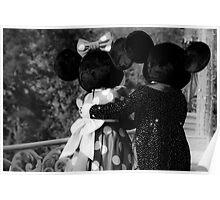 Mickey & Minnie Poster