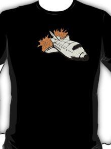 Space Shuttle in flight T-Shirt