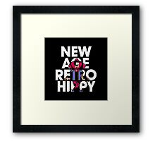 New Age Retro Hippy Framed Print