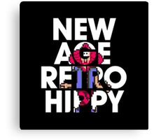 New Age Retro Hippy Canvas Print