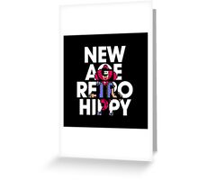 New Age Retro Hippy Greeting Card