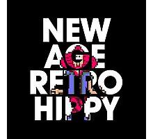 New Age Retro Hippy Photographic Print