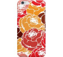 Vintage rose pattern iPhone Case/Skin