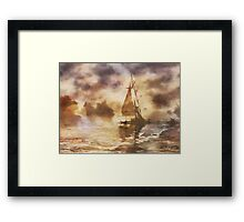 The Yellow Mist Framed Print