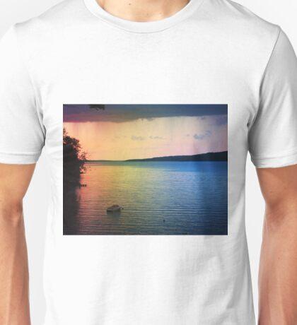 Rainbow Lake Unisex T-Shirt
