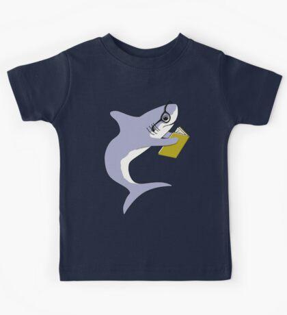 Sharks Reading Kids Tee