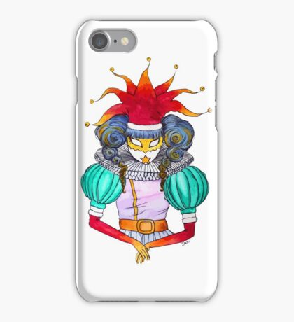 Christmas in Venice : Court Jester iPhone Case/Skin