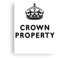 CROWN PROPERTY, THE QUEENS, BRITISH, UK, ENGLAND Canvas Print