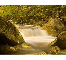Kelly Stand Road Waterfall Photographic Print