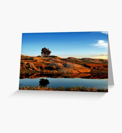 """Reflections at the Rocks!!"" Greeting Card"