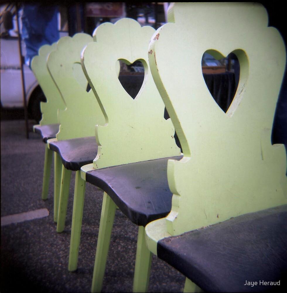 i heart green by Jaye Heraud
