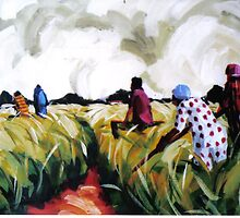 Farm Workers by Themba