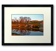 """Mirror Pool !!"" Framed Print"