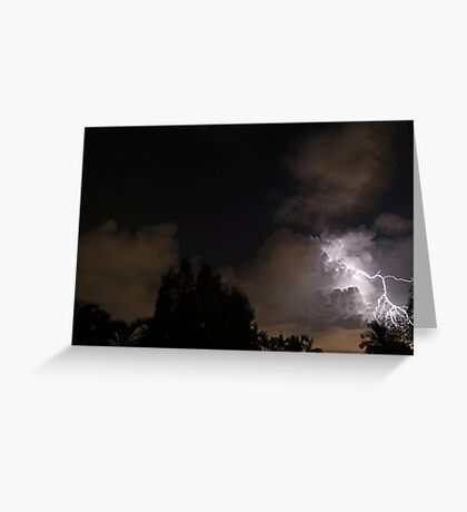Starry Night - Stormy Night Greeting Card