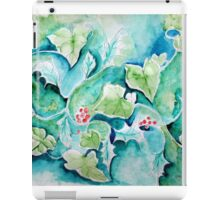 HOLLY AND IVY WINTER iPad Case/Skin