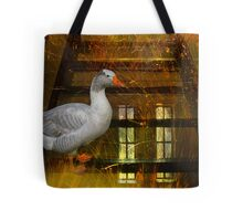 Goosy Goosy Gander Whither shall I wander Tote Bag