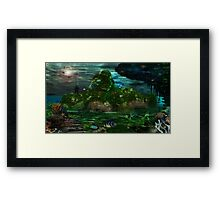 The Lost City Framed Print