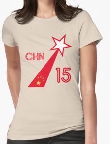 CHINA STAR Womens Fitted T-Shirt