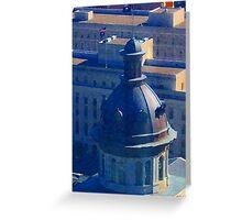 Capital Dome - Columbia, South Carolina Greeting Card