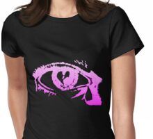 Eye Cry [Violet] Womens Fitted T-Shirt
