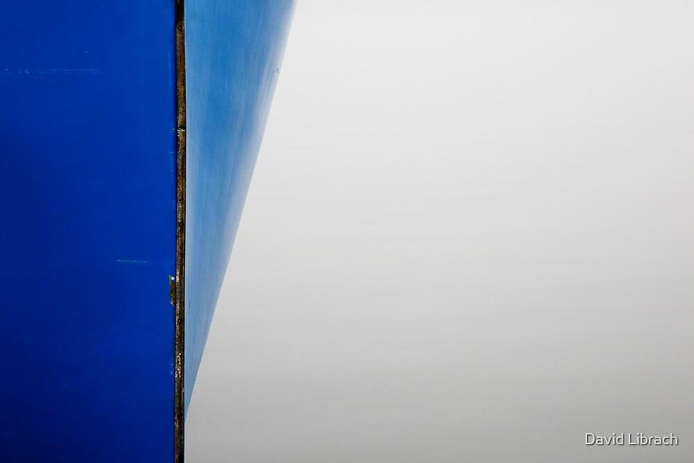 Blue Boat by David Librach - DL Photography -