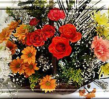flowers of spring by cynthiab
