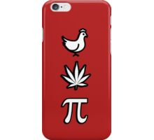 Chicken pot pi pie iPhone Case/Skin