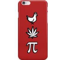 Chicken pot pi pie iPhone Case/Skin