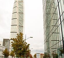 Turning Torso in Malmö by frommyhorizon