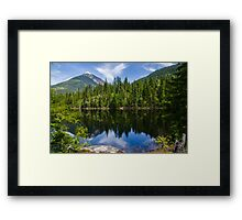 Country life Echo lake  Framed Print