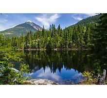 Country life Echo lake  Photographic Print