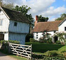 Brockhampton Manor House II by Justine Humphries