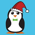 Christmas Penguins by Lauramazing