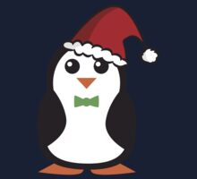 Christmas Penguins One Piece - Long Sleeve