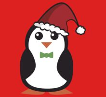 Christmas Penguins Baby Tee