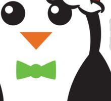 Christmas Penguins Sticker
