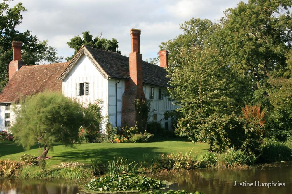Brockhampton Manor House III by Justine Humphries