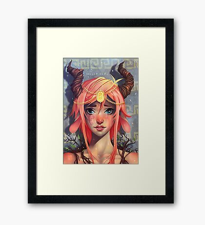 Fawn Princess Framed Print