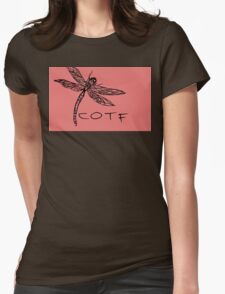 Pink COTF Womens Fitted T-Shirt
