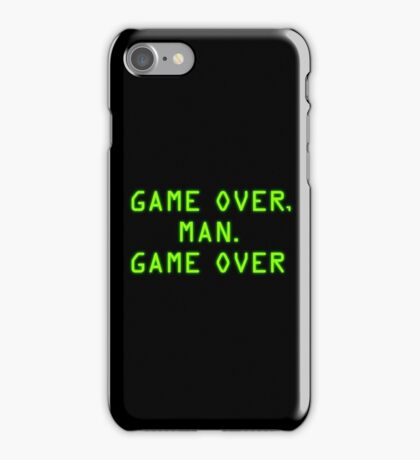 Game Over, Man. Game Over iPhone Case/Skin