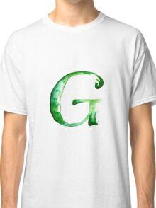 Alphabet G Classic T-Shirt