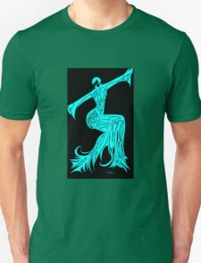 Blue Fire Girl T-Shirt