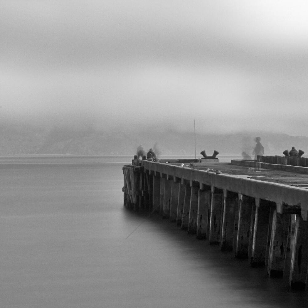 Golden Gate Park Pier by Michael Mancini