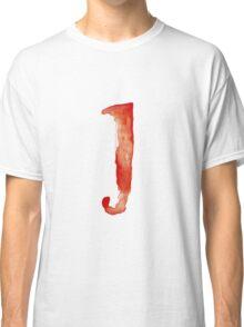Alphabet J Classic T-Shirt