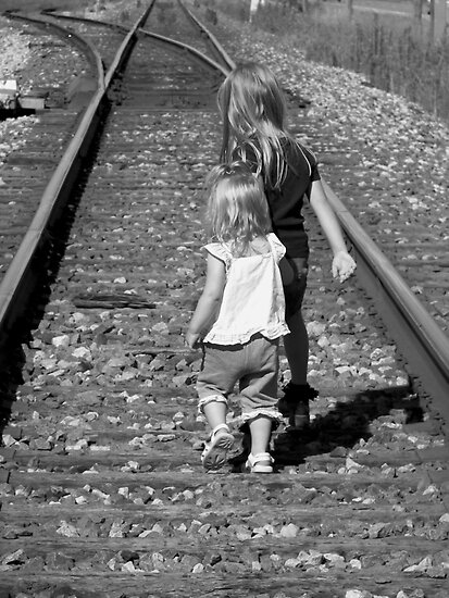 On the Right Track by Maria Dryfhout