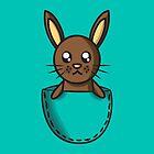 Pocket Bunny by Lauramazing