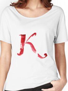 Alphabet K Women's Relaxed Fit T-Shirt