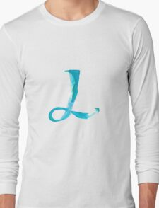 Alphabet L Long Sleeve T-Shirt
