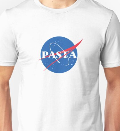 Space Pasta Unisex T-Shirt