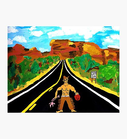 Hitchhiker Photographic Print